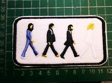 The Beatles Abbey Road Iron On Patch EMBROIDERED UK SELLER