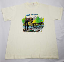 Vintage Enco Originals Bar Harbor Maine Tee T-Shirt Large - GREAT CONDITION!
