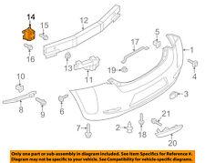 NISSAN OEM 11-12 Leaf Rear Bumper-Stay Bracket Support Left 852113NA0A