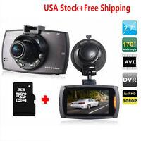 "1080P 2.7"" HD TFT LCD Vehicle In Car Dash Camera Video Register Recorder DVR Cam"