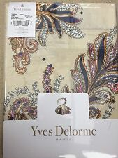 Yves Delorme PARURE IVOIRE SATIN King Superking FLAT Sheet