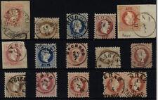 Gestempelte Briefmarken Sammlung österreichische (bis 1945)
