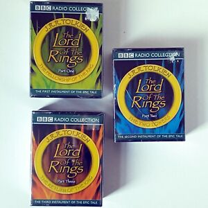 Lord of the Rings (Full Cast 12 x Cassette Audiobook, BBC Radio 2002) New Sealed