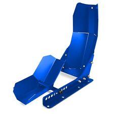Motorrad Transportständer Frontwippe Radklemme ConStands Easy Plus blau matt L