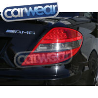 MERCEDES BENZ R171 SLK-CLASS 04-09 SMOKE RED LED TAIL LIGHTS