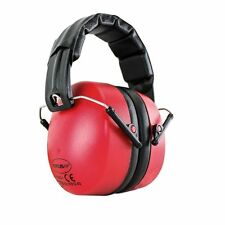 Titus Onyx 37 NRR - Quality Hearing Protection Earmuff Standard Red