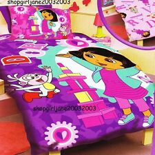 Dora the Explorer - Let's Play -Single/Twin Bed Quilt Doona Duvet Cover Set