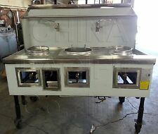 3 Hole 3 Burner Cpa-3 Chinese Wok Range Nsf & Csa New Contact Us For Details!