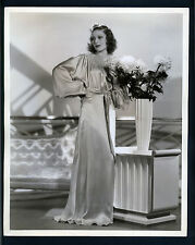 OVERSIZE 1936 PHOTO OF LORETTA YOUNG - 11X14 LARGE DBLWT