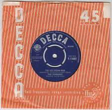 "THE TORNADOS - The Ice Cream Man - Original 1963 UK  Decca 2-trk 7"" vinyl single"