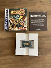Golden Sun - Nintendo Game Boy Advance Boxed GBA Gameboy