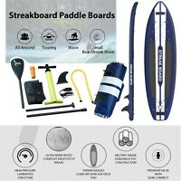 STREAK BOARD 11' 6'' Thick Inflatable Stand Up Paddle Board Professional Pointed