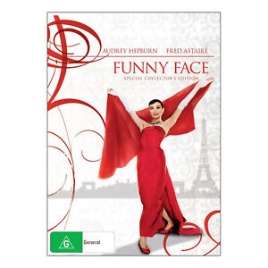 Funny Face DVD New Region 4 Aust. - Audrey Hepburn, Fred Astaire - Free Post