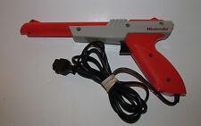 Official Nintendo NES Zapper Light Gun Original Orange OEM, Tested, Works!