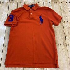 Polo Ralph Lauren Custom Slim Fit Big Pony Red Rugby Polo Shirt Medium