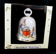 Reutter Germany Beatrix Potter Peter Rabbit Bell MIB