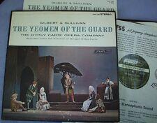 OSA 1258 Gilbert Sullivan YEOMAN GUARD England GROOVED DECCA for London USA 2 LP