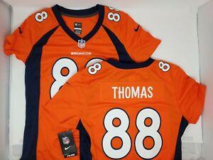 Nike Womens Small Demaryius Thomas #88 Denver Broncos NFL OnField Jersey NWT $95