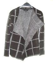 Dark Grey Check Jacket - Size S