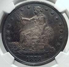 1878 S UNITED STATES of AMERICA US Silver Trade Dollar Coin for CHINA NGC i82364