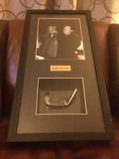 Gary Player Pro Tour certified autographed club and photo with Arnold Palmer