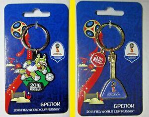 World Cup FIFA 2018 Russia keychain keyring gift football soccer Zabivaka Wolf