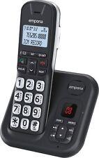 Emporia GD61AB Festnetz-Telefon Analog, schnurlos, intgr. AB, Großwahltasten