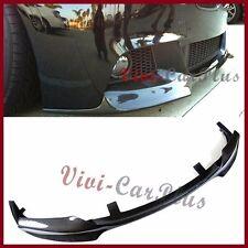 V Look Carbon Fiber Extension Front Lip For 11-15 BMW F10 Sport Bumper Body Kits