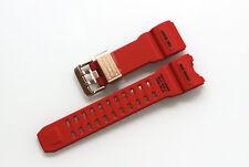 NEUF origine Casio Bracelet Montre Rouge Bracelet Bande de Rechange GWG-1000GB-4A Original