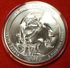 2013 ATB MOUNT RUSHMORE DESIGN .999% 5 OZ SILVER ROUND BULLION COLLECTOR COIN
