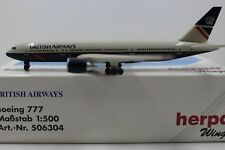 Herpa Wings 1:500 British Airways Boeing 777 Landor (506304)