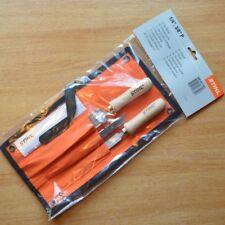 "Genuine Stihl Chainsaw Chain Sharpening Kit 1/4"" 3/8 P 4mm 5605 007 1027 Tracked"