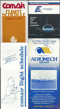 Commuter airlines timetable lot (4) [t005]