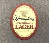 Yuengling Brewery Lager Oval Coaster - 1 Coaster Brewery Beer