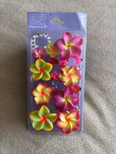 iphone 4/4s Case From Claire's - 3D Flowers Design Brand New Free P&P