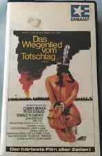 VHS Das Wiegenlied von Totschlag (1987) FSK 18 Western mit Candice Bergen
