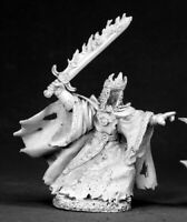 Reaper Miniatures Murkillor, Wraith King #02525 Dark Heaven Unpainted Metal