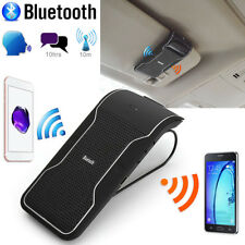 Wireless Bluetooth Multipoint  Handsfree Speakerphone Speaker Car Sun Visor set