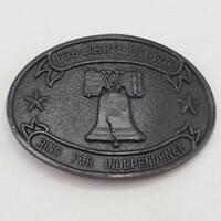 Belt Buckle Liberty Bell Bicentennial 1976 Vtg