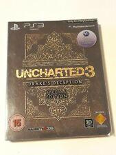 Uncharted 3: Drake's Deception Edición Especial PS3 Nuevo