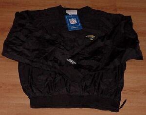 Jacksonville Jaguars Pullover Jacket Medium Black Reebok NFL