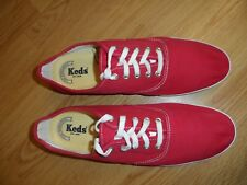 KEDS CUSHIONED  HEEL MENS RED TRAINERS SIZE UK 12M /  EUR 46