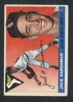 1955 Topps #104 Jack Harshman VGEX White Sox 86347