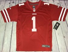 NFL Nike On Field Youth Large San Francisco 49ers #1 Chavez Jersey NWT