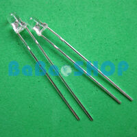 20/50/100/200pcs 3mm 940nm IR Infrared Launch Emitter Diode Photodiode LED Lamp