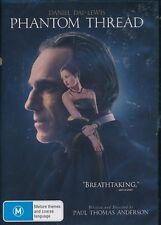 Phantom Thread DVD NEW Region 4 Daniel Day Lewis