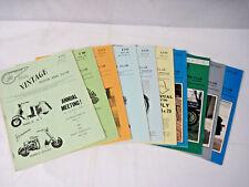 Vintage Motor Bike Club 10 Issues Magazines 1979 1982 1983 1984 1985 1986