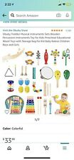 Obuby Kids Musical Instruments Sets 17 Types 23 Pcs Percussion For Toddler Toys