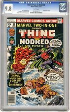 Marvel Two-In-One #33 CGC 9.8  NMMT  wht pgs Modred Team Up 11/77 G.Perez Cover