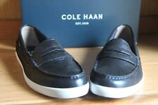 Cole Haan Nantucket Loafer II Midnight Blue  Canvas Navy Women Size 10B   W09709